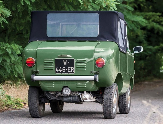 One Of About 50 Fiat 599 Ferves Rangers Still Around!