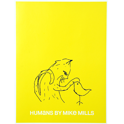 cat poster - HUMANS 01 COLLECTION | Humans by Mike Mills