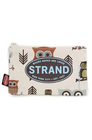 Pouch: Hooty the Owl in Gifts & More Strand Totes & Pouches at Strand Books