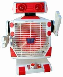 Robo the Fan by Robeson, by Air Ace, by Beauty - The Old Robot's Web Site