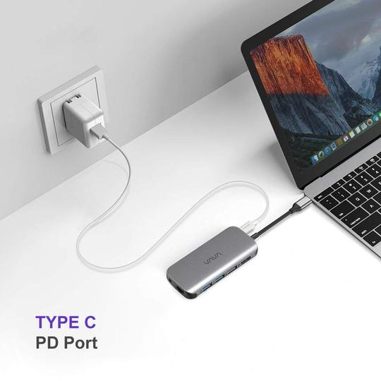 USB C Hub 9-in-1 Adapter with PD Power Delivery - VAVA
