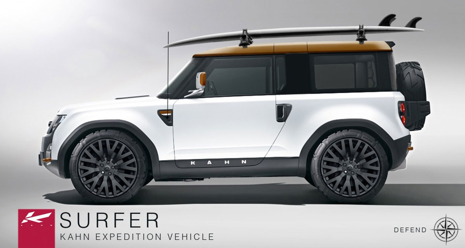 Concept Cars: Project Kahn Defender DC100 Concept Surfer Expedition Vehicle. Land Rover Defender DC100 Modifications, Project Kahn Land Rover, Land Rover Defender DC100 Tunings, Land Rover Defender DC100 Concept, Kahn Land Rover Defender DC100 | Roogio