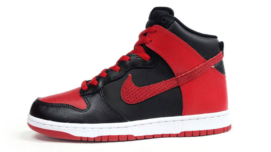 DUNK HIGH 「LIMITED EDITION for ICONS」 RED/BLK/WHT ナイキ NIKE | ミタスニーカーズ|ナイキ・ニューバランス スニーカー 通販
