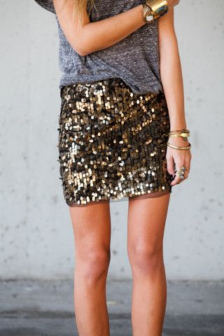 whatever / sequins and a t