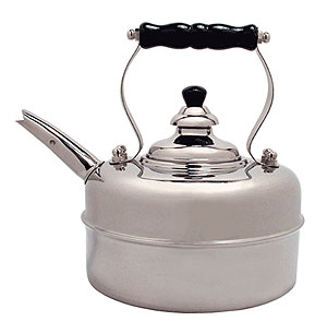 Simplex Chrome Tea Kettle
