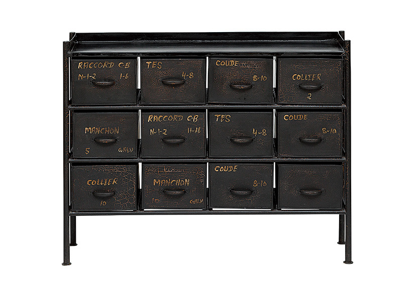 GUIDEL 12DRAWER CHEST WIDE | PRODUCTS | journal standard Furniture