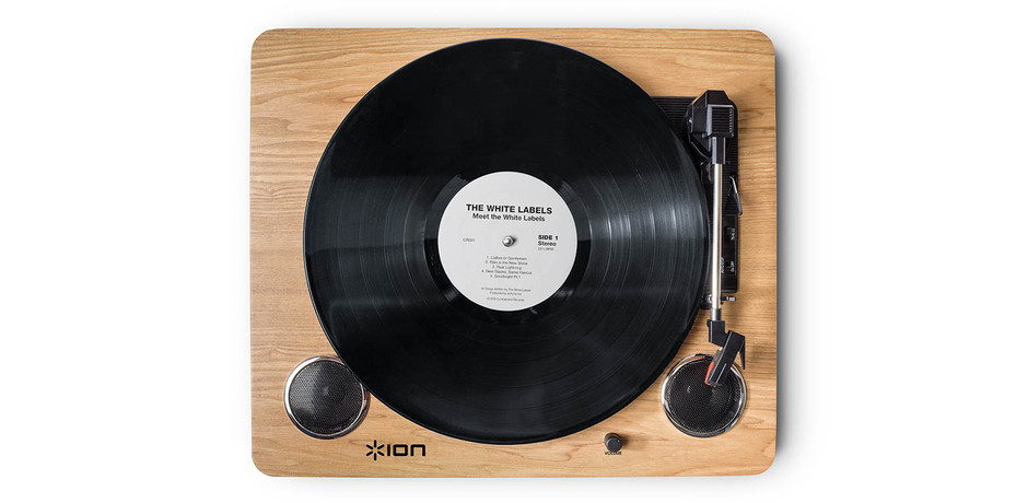 Archive LP - Digital Conversion Turntable with Built-in Stereo Speakers - ION Audio - Dedicated to Delivering Sound Experiences