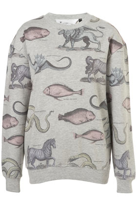 Mystical Animals Sweat By Tee and Cake - Jersey Tops - Clothing - Topshop