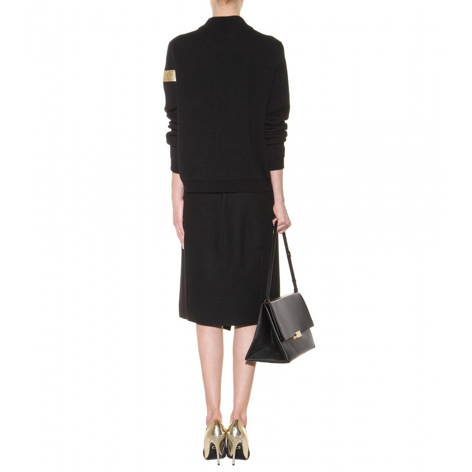 mytheresa.com - Cashmere and wool-blend sweater - Luxury Fashion for Women / Designer clothing, shoes, bags