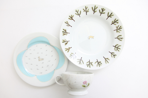 minä perhonen × PASS THE BATON remake tableware'リトルトリップ' 発売のお知らせ | News
