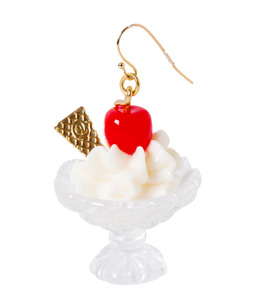 Q-pot.ONLINE SHOP / Cherry Sundae Pierce