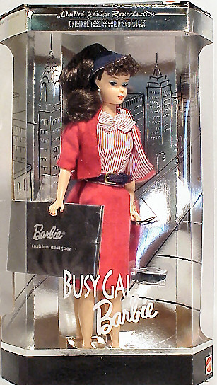 Busy Gal Vintage Barbie Reproduction