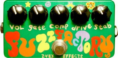 Amazon.com: ZVEX Effects Fuzz Factory Guitar Effect Pedal: Musical Instruments