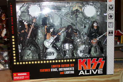 McFarlane Kiss Alive Deluxe Box Set RARE MISB SOLD OUT | McFarlane Action Figures