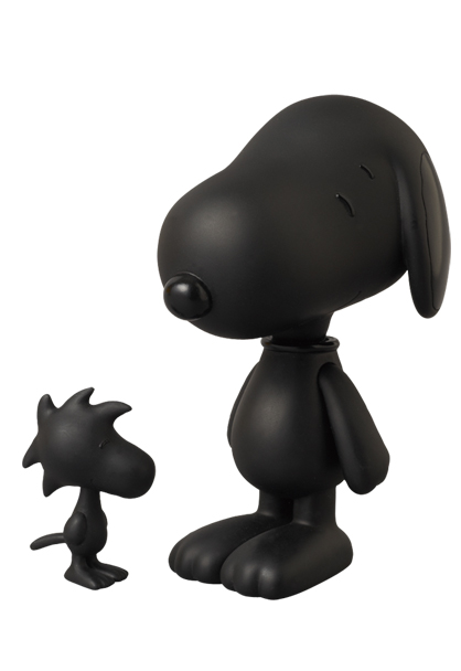 MEDICOM TOY - VCD SNOOPY & WOODSTOCK TONE ON TONE Ver.