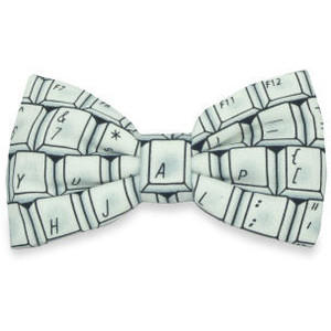 Computer Keyboard Bow Tie from Swagger & Swoon - Polyvore