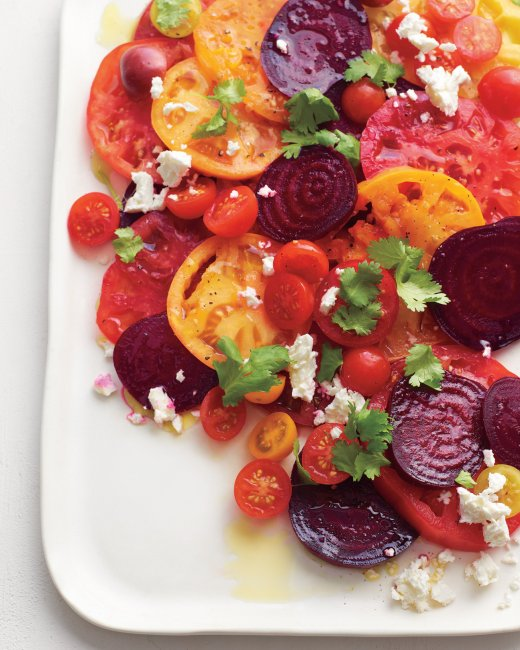 Tomato-Beet Salad Recipe | Cooking | How To | Martha Stewart Recipes
