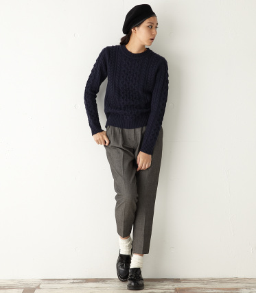 【MOUSSY】 WARM KNIT TOPS|シェルター公式通販サイト|SHEL'TTER WEB STORE