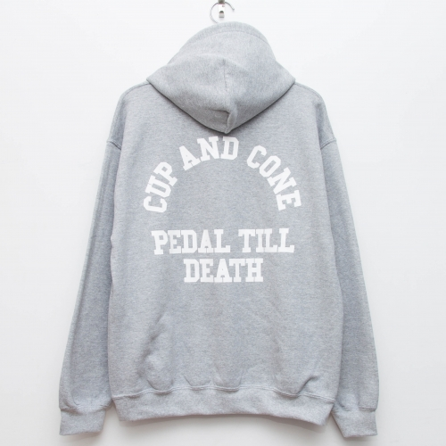 PTD Eco Hoodie - Grey - cup and cone WEB STORE