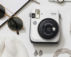 instax mini 70 by fujifilm adds color to their instant print cameras