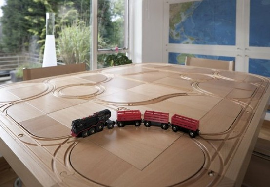 About TrackTile Tables & Three Foot Three Design Ltd