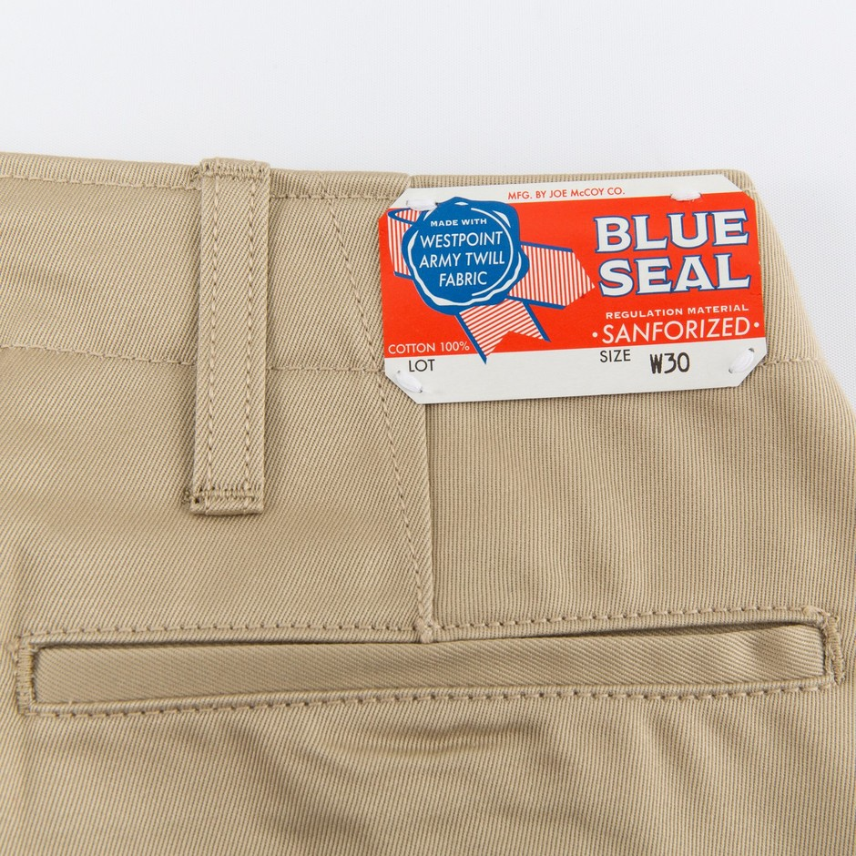 The Real McCoy's Blue Seal Chinos - Beige - Standard & Strange
