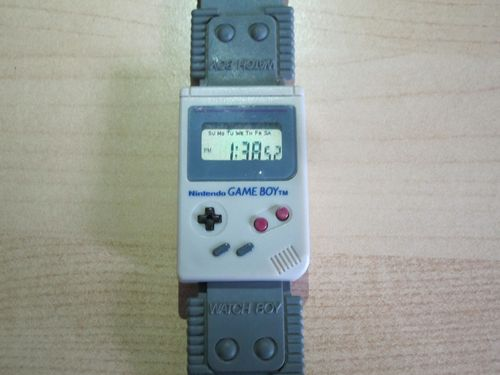 Nintendo Gameboy WATCHBOY Wrist Watch Original WORKING 1992 SUPER RARE LOOK! | eBay