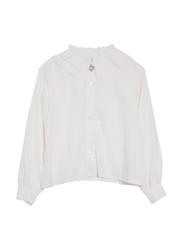 Pleats collar blouseの通販「HONEY MI HONEY ハニーミーハニー ONLINE STORE」(14A-AN-12)