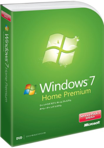 Amazon.co.jp: Microsoft Windows 7 Home Premium 通常版 Service Pack 1 適用済み: ソフトウェア