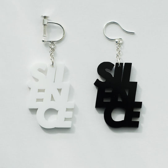 SILENCE_earring or pierce | this_is_help!