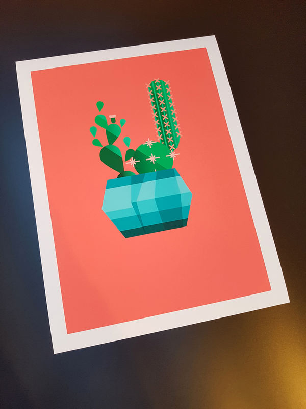 Cacti Club No.2 - Ben The Illustrator Print Store