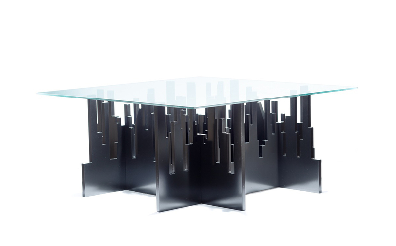 Side Tables – Growing City – a unique product by PuntoSoave on DaWanda