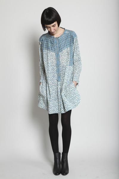 TOTOKAELO - Isabel Marant - Hamil Dress - Blue