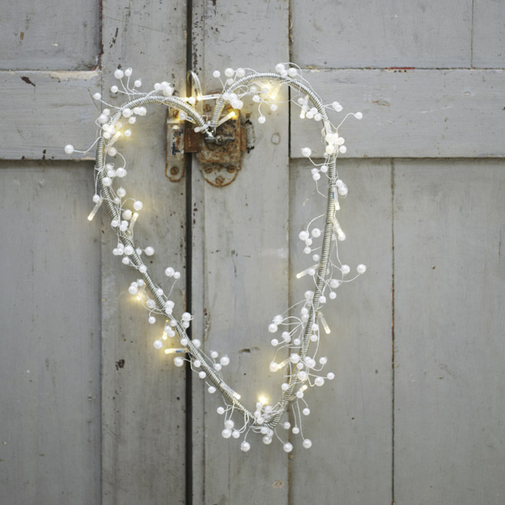 Pearl Light Heart — Cox & Cox, the difference between house and home.