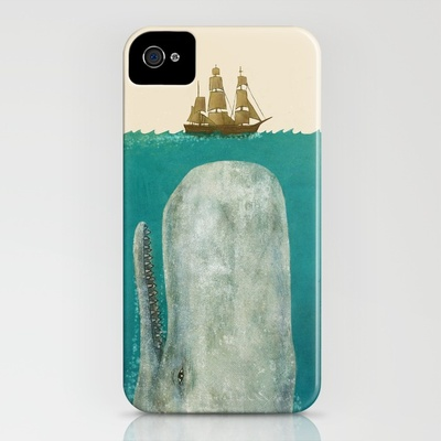 Moby iPhone Case by Terry Fan | Society6