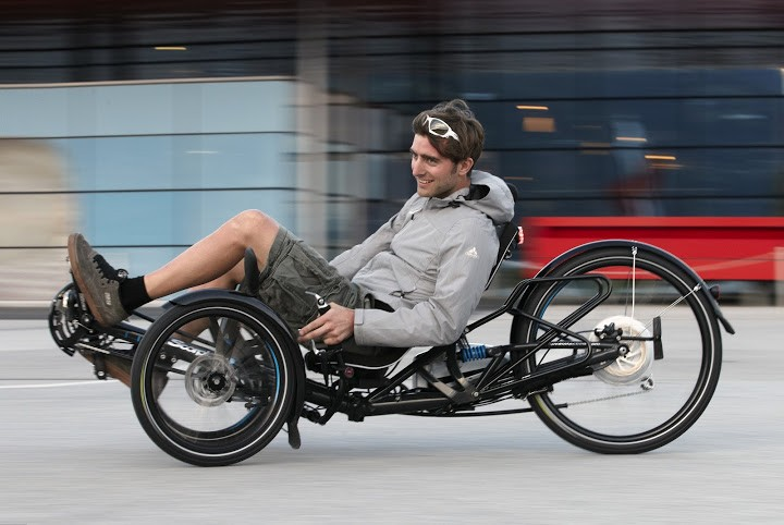 Scorpion fs 26 S-Pedelec folding electric trike goes up to 28 mph (45 km/h) - Images