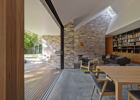 Windows funnel daylight into Andrew Burges' Skylight House extension