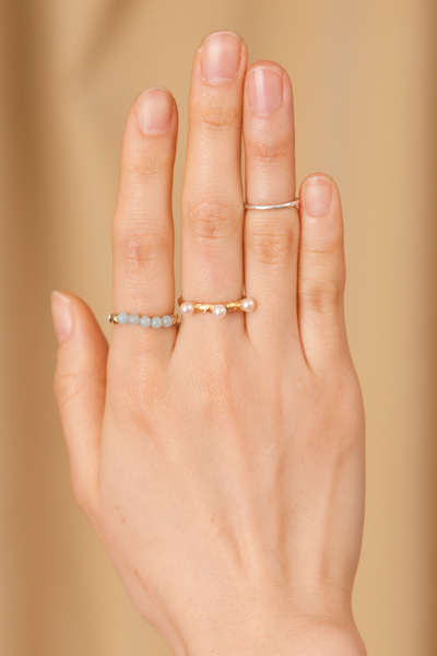 【予約商品】THREE DROPS RING - mother online shop