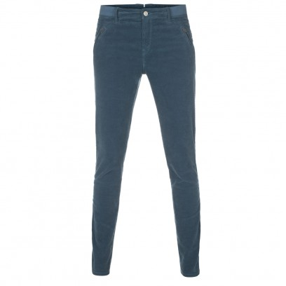 Paul By Paul Smith | Skinny Fit Teal Corduroy Trousers