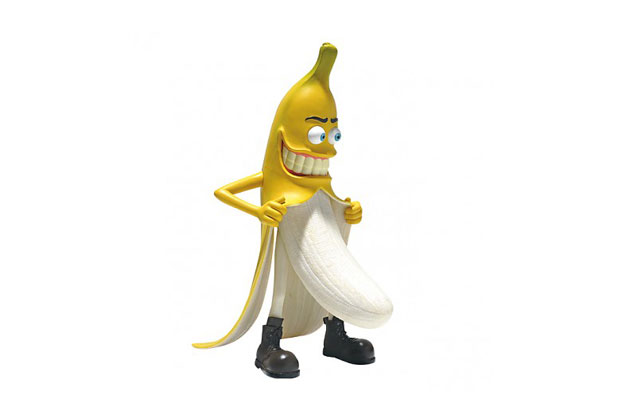 "HeadPlay ""Bad Banana Man"" Toy 
