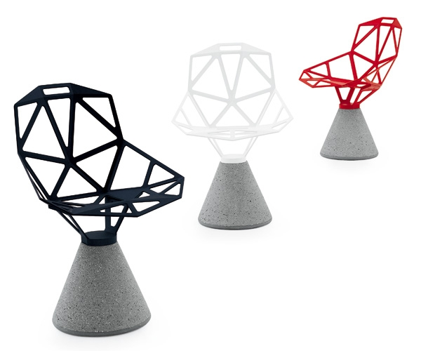 CHAIR_ONE (concrete base) | Magis Japan -official homepage-