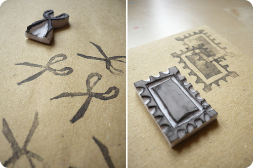 marysza. handmade goods made with love: thank you envelopes & love for stamps