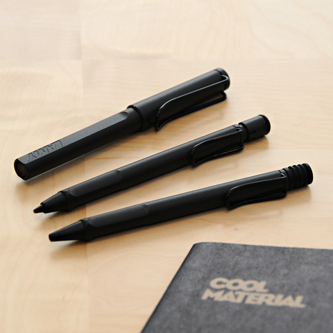 Lamy Safari Charcoal Collection - Cool Material