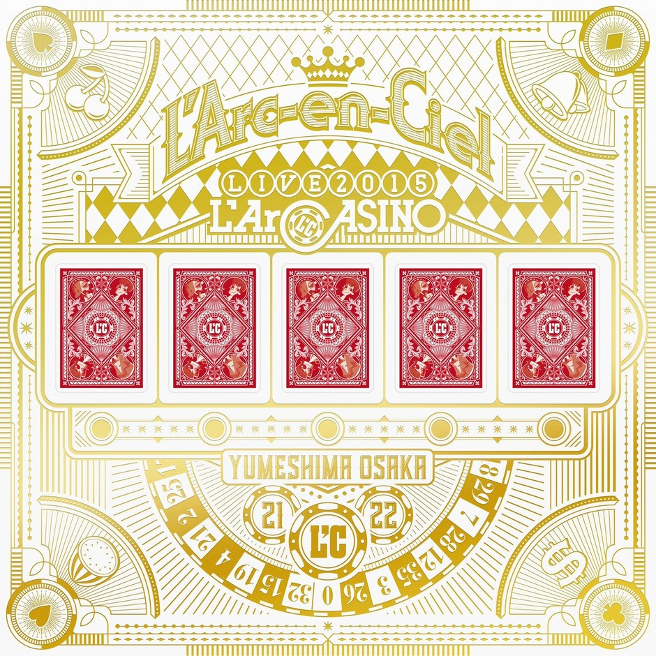 Amazon.co.jp | L'Arc-en-Ciel LIVE 2015 L'ArCASINO(完全生産限定盤)(BD+2CD+3LP+7 L'ArCHIP) [Blu-ray] DVD・ブルーレイ - L'Arc-en-Ciel
