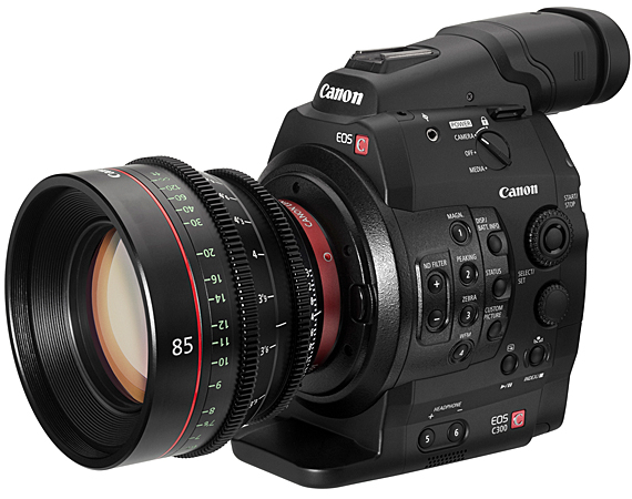 Canon EOS C300 Digital Cinema Camera revealed [Video demo] - SlashGear