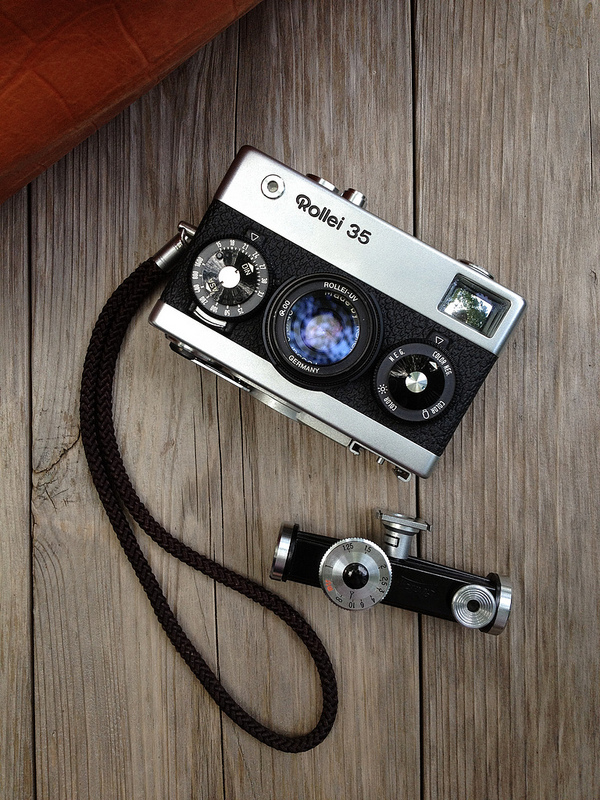 This is my new camera, Rollei35 Tessar. | Flickr - Photo Sharing!