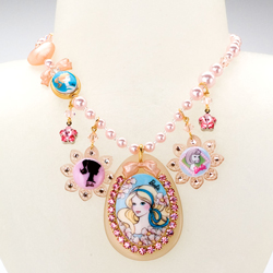 BARBIE® MULTICHARM NECKLACE - Barbie - TARINA TARANTINO