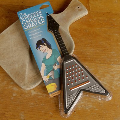 Amazon.com: Shredder Guitar Cheese Grater - Black: Kitchen & Dining