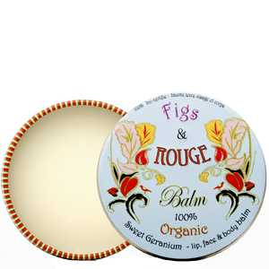 Figs & Rouge Sweet Geranium 100% Organic Skin Care Balm