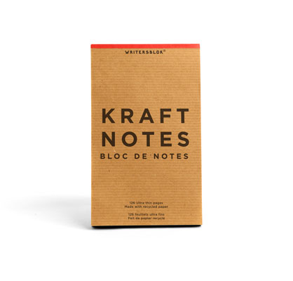 Kikkerland Design » Products » Kraft Notes Set of 3 Small
